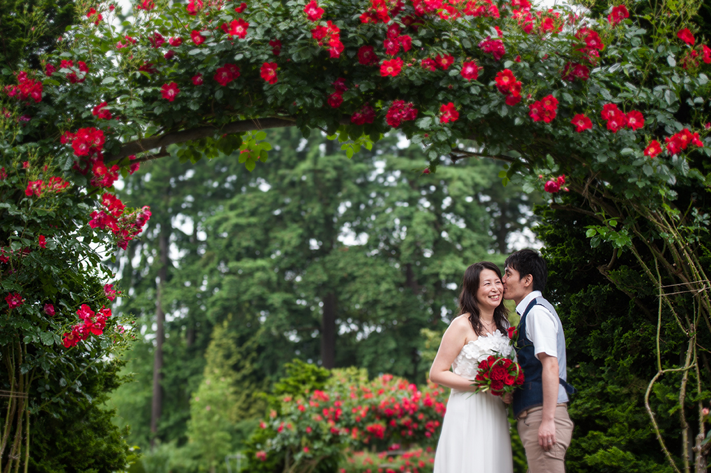 The Rose Garden Wedding